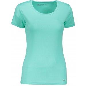 Dámské funkční tričko s krátkým rukávem ALPINE PRO NASMASA 2 LTSN276 ZELENÁ