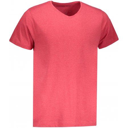 Pánské triko s krátkým rukávem ALPINE PRO SESH MTSN436 ČERVENÁ