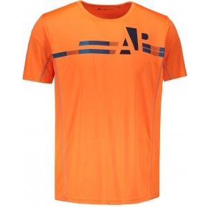 Pánské tričko s krátkým rukávem ALPINE PRO DONMAT MTSN359 ORANŽOVÁ
