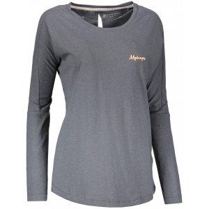 Dámské triko s dlouhým rukávem ALPINE PRO MALA 3 LTSN423 ŠEDÁ