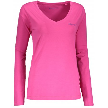 Dámské triko s dlouhým rukávem ALPINE PRO DALILA 3 LTSN342 RŮŽOVÁ