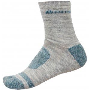 Ponožky ALPINE PRO GENTIN 3 USCN050 ZELENÁ