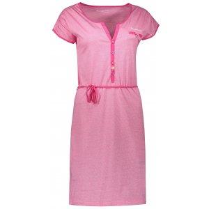 Dámské šaty ALPINE PRO BERKA LSKN151 RŮŽOVÁ