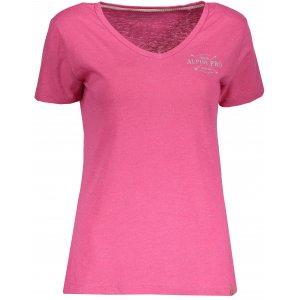 Dámské tričko s krátkým rukávem ALPINE PRO KERPA 3 LTSN447 RŮŽOVÁ