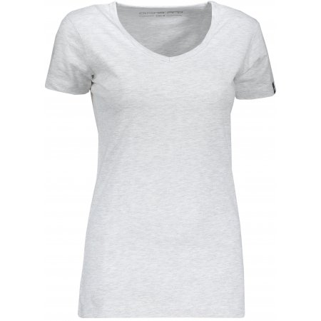 Dámské triko s krátkým rukávem ALPINE PRO AGA LTSN545 BÍLÁ