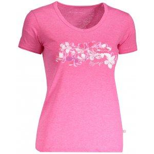 Dámské tričko s krátkým rukávem ALPINE PRO LAILA 3 LTSN419 RŮŽOVÁ