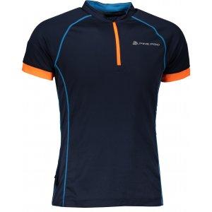 Pánské funkční tričko s krátkým rukávem ALPINE PRO SORAN MTSN351 MODRÁ