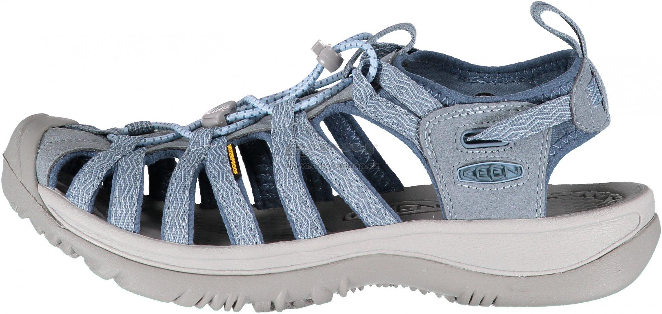 4e6fe27695a8 Dámské sandály KEEN WHISPER W CITADEL BLUE MIRAGE velikost  EU 37 ...