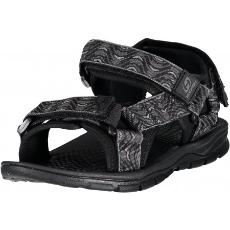 Pánské sandále HANNAH FEET PEWTER/WAVE