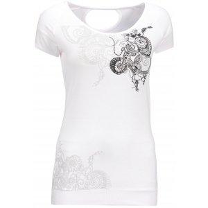 Dámské triko s krátkým rukávem ALTISPORT MAROMBA BÍLÁ