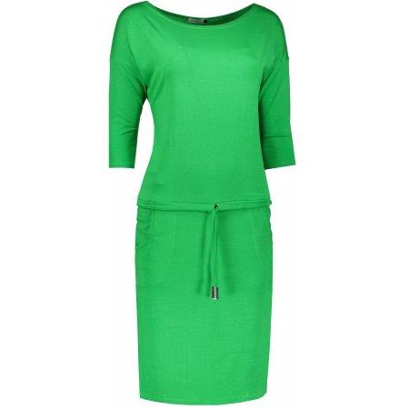 Dámské šaty NUMOCO  A13-95 ZELENÁ