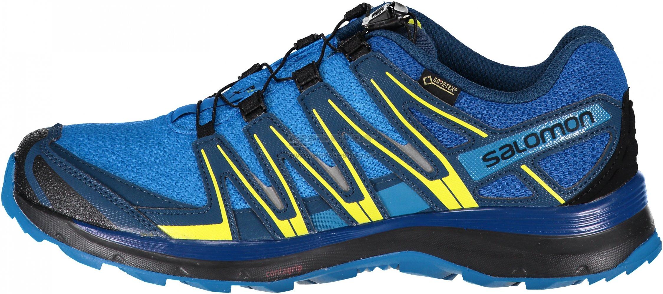 d0dc1a30479a Pánské sportovní boty SALOMON XA LITE GTX L40071300 INDIGO BUNTING SNORKEL  BLUE SULPHUR