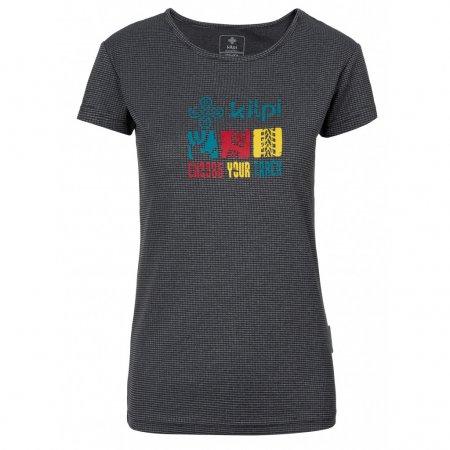 Dámské funkční triko KILPI GIACINTO-W KL0047KI TMAVĚ ŠEDÁ