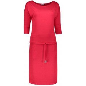 Dámské šaty NUMOCO  A13-96 ČERVENÁ
