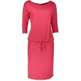 Dámské šaty NUMOCO A13-98 ČERVENÁ