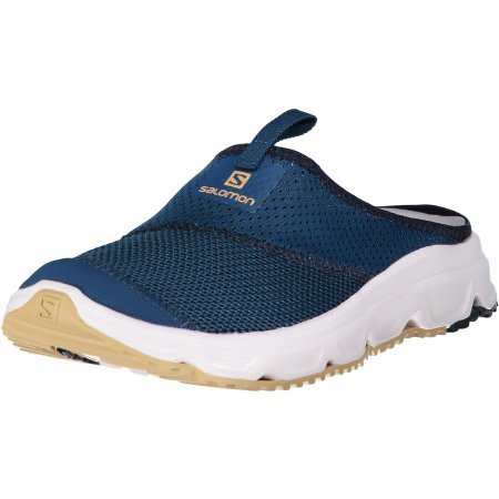 Pánské pantofle SALOMON RX SLIDE 4.0 L40673100 POSEIDON/NAVY BLAZER/TAOS TAUPE