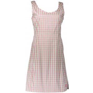 Dámské šaty ALPINE PRO SENDRA LSKN160 RŮŽOVÁ/ZELENÁ