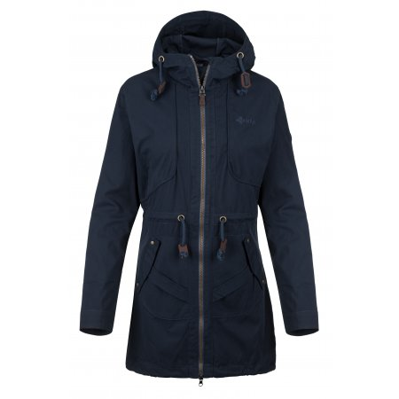 Dámský kabát KILPI PAU-W KL0332KI TMAVĚ MODRÁ