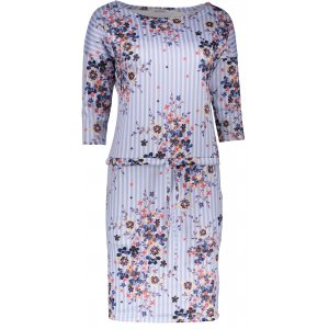 Dámské šaty NUMOCO  A13-93 BÍLÁ