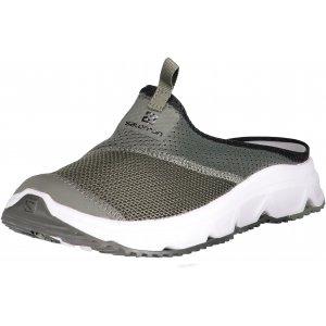 Pánské pantofle SALOMON RX SLIDE 4.0 L40676200 CASTOR GRAY/WHITE/BELUGA