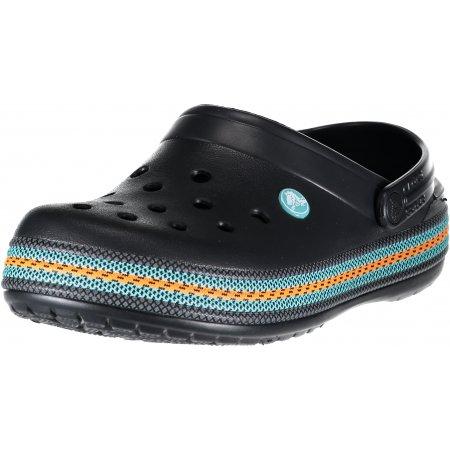 Dámské pantofle CROCS CROCBAND SPORT CORD CLOG 205889-001 BLACK