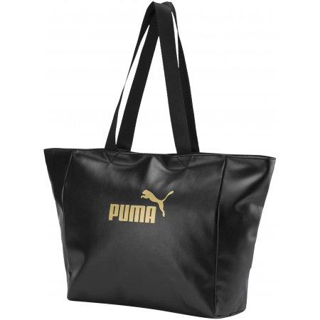 Dámská taška PUMA WMN CORE UP LARGE SHOPPER 7657801 PUMA BLACK
