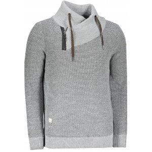 Pánský svetr ALPINE PRO NEL MPLP068 TMAVĚ ŠEDÁ