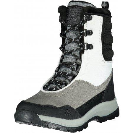 Dámské zimní boty ALPINE PRO DALILA LBTP224 TMAVĚ ŠEDÁ