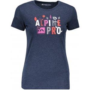 Dámské triko ALPINE PRO SASHA 3 LTSP506 TMAVĚ MODRÁ