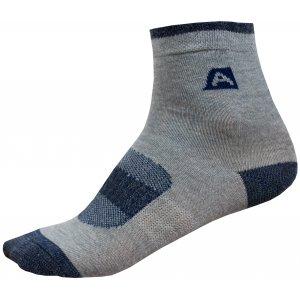 Dětské ponožky ALPINE PRO RAPID 2 KSCP010 TMAVĚ MODRÁ