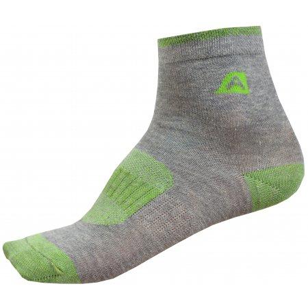 Dětské ponožky ALPINE PRO RAPID 2 KSCP010 ZELENÁ