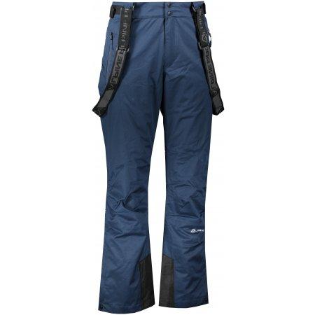Pánské lyžařské kalhoty ALPINE PRO SANGO 7 MPAP394 TMAVĚ MODRÁ