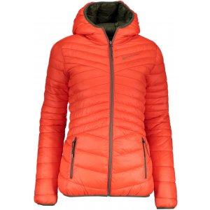 Dámská oboustranná zimní bunda ALPINE PRO MUNSRA 5 LJCP346 ORANŽOVÁ