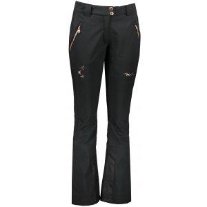 Dámské zimní softshellové kalhoty ALPINE PRO KARIA 3 LPAP362 ČERNÁ