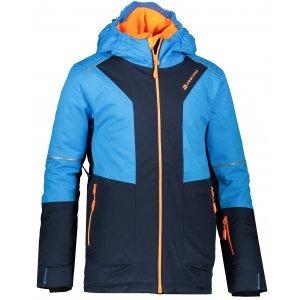Dětská lyžařská bunda ALPINE PRO MIKAERO 3 KJCP153 TMAVĚ MODRÁ