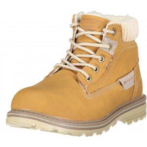 Dětské zimní boty ALPINE PRO NEWHALENO KBTP201 BÉŽOVÁ