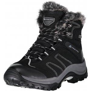 Dámské zimní boty ALPINE PRO CINDA LBTP226 ČERNÁ