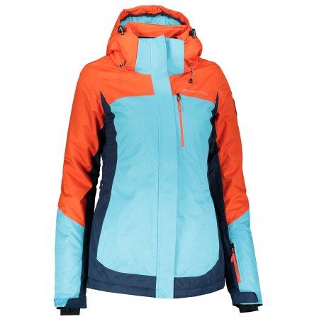 Dámská lyžařská bunda ALPINE PRO SARDARA 3 LJCP352 ORANŽOVÁ
