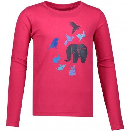 Dětské triko ALPINE PRO MILTO KTSP187 RŮŽOVÁ