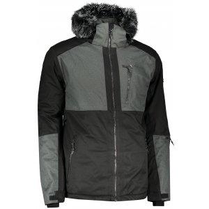 Pánská lyžařská bunda ALPINE PRO DOR 2 MJCP372 ČERNÁ