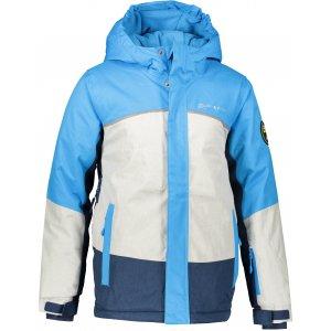Dětská lyžařská bunda ALPINE PRO SARDARO 2 KJCP154 SVĚTLE MODRÁ