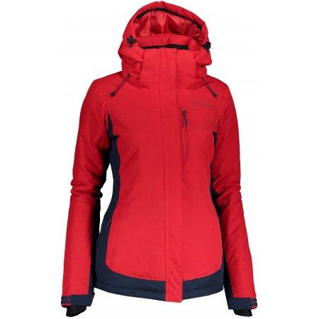 Dámská zimní bunda ALPINE PRO RAHA LJCP385 ČERVENÁ
