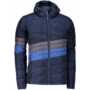 Pánská bunda ALPINE PRO BARROK MJCP366 TMAVĚ MODRÁ