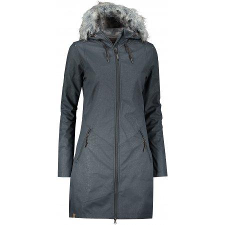 Dámský softshellový kabát ALPINE PRO PRISCILLA 4 INS. LCTP100 TMAVĚ ŠEDÁ