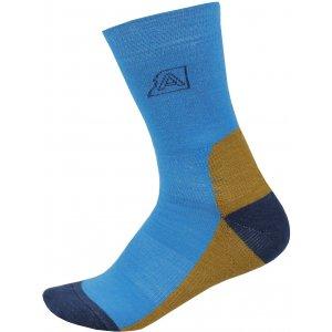 Ponožky ALPINE PRO ILSER USCP060 SVĚTLE MODRÁ