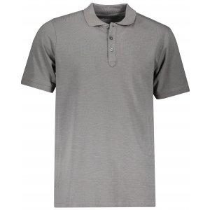 Pánské triko s límečkem ALPINE PRO SIMEON MTSP511 SVĚTLE ŠEDÁ