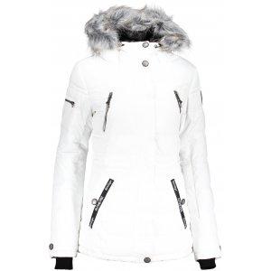 Dámská zimní bunda ALPINE PRO ICYBA 5 LJCP344 BÍLÁ