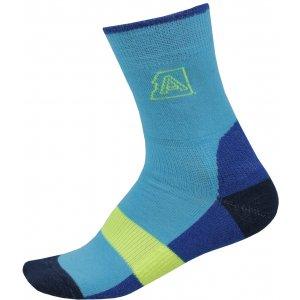 Dětské ponožky ALPINE PRO INDO KSCP016 SVĚTLE MODRÁ