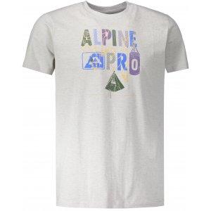 Pánské triko ALPINE PRO ABIC 7 MTSP404 ŠEDÁ