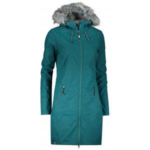 Dámský softshellový kabát ALPINE PRO PRISCILLA 4 INS. LCTP100 ZELENÁ